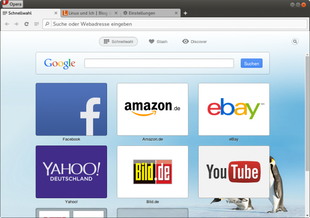 Mit Opera 24 Developer gibt es seit langer Zeit mal wieder eine Linux-Version des Browsers.