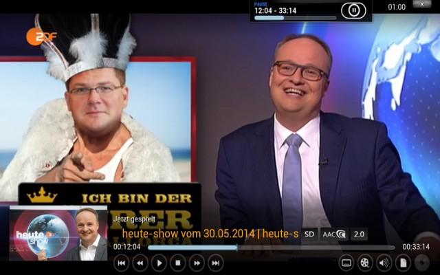 Auch Online-Mediatheken wie die es ZDF lassen sich mit XBMC nutzen.
