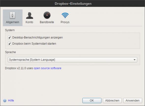 Dropbox baut an einer neuen Oberfläche für die Windows- und Linux-Version seines Clients.