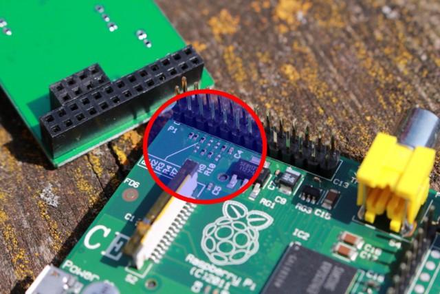 Achtet darauf, dass euer Raspberry Pi über die entsprechenden Ausgänge verfügt.