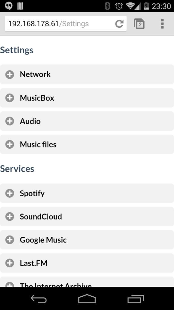 Raspberry Pi Als Jukebox F 252 R Google Music Spotify Oder