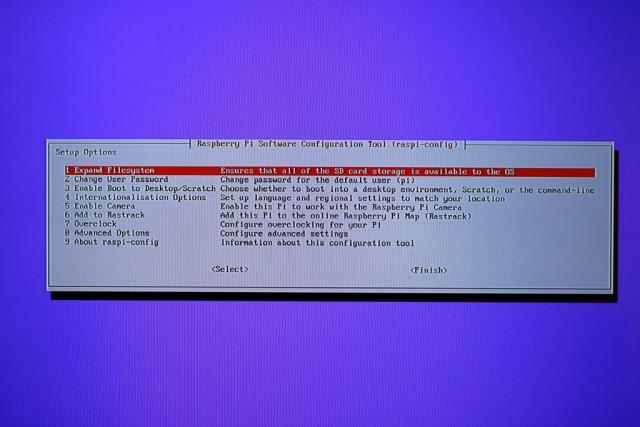 Einen kleines Tool hilft euch nach der grundlegenden Installation von Raspbian beim Einrichten des Systems.