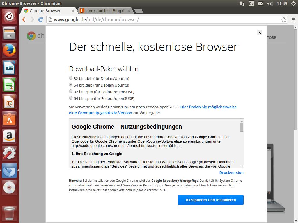 Adobe Flash für Firefox, Opera, Chromium und Chrome unter Ubuntu