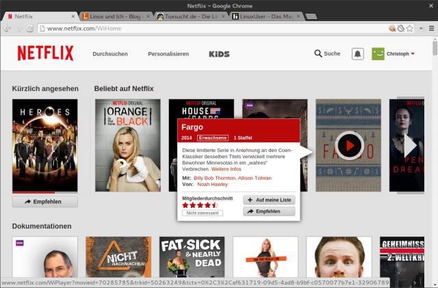 Netflix bietet wie Watchever, Maxdome oder Amazon Prime Video Video-On-Demand an.