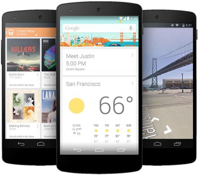 Das Nexus 5 mit Stock-Android und per Custom-ROMs auch noch lange Updates möglich.