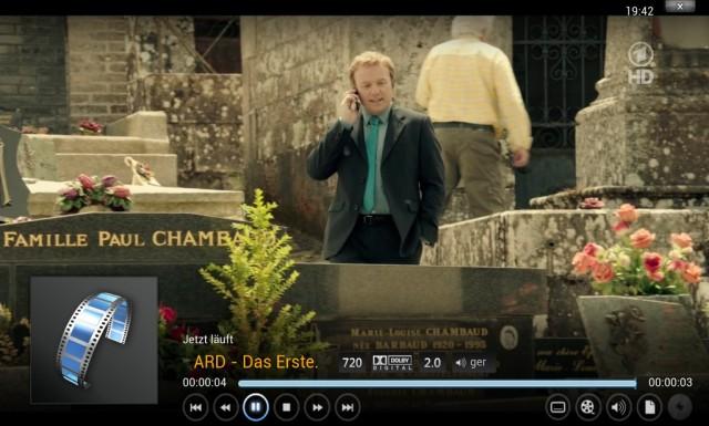 HD-Fernsehen mit dem AVM DVB-C Repeater auf einem Raspberry Pi.