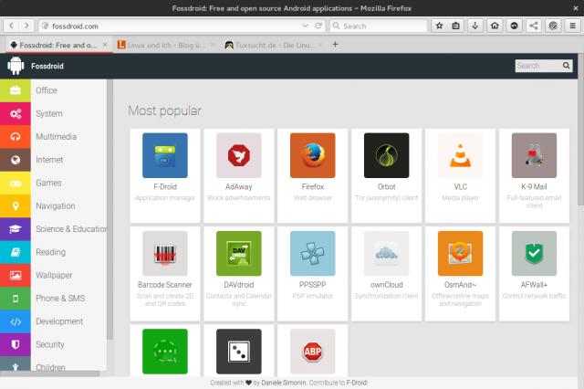 Auf Fossdroid findet ihr Open-Source-Apps für Android.