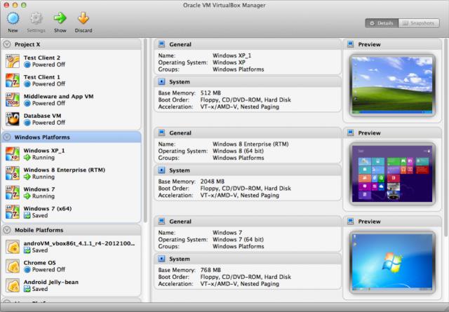 An der Oberfläche von VirtualBox hat sich nicht viel geändert (Quelle: Oracle)