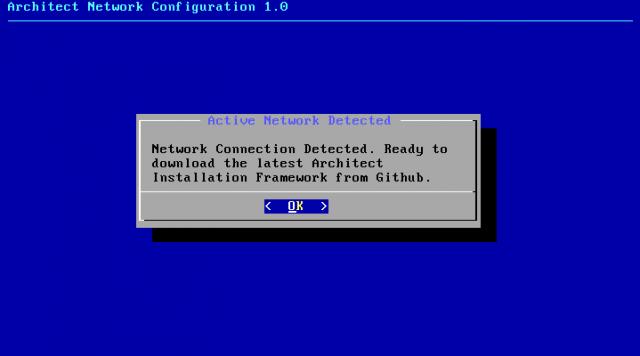 Die Installationsroutine lädt am Anfang die neuste Version des Setups aus dem Netz.
