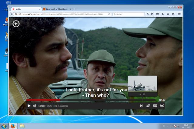 Der HTML5-Player von Netflix funktioniert nun auch mit Firefox.