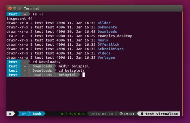 Unter Ubuntu muss man bei der Installation von Powerline ein wenig mehr Aufwand treiben.