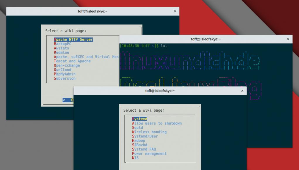Das Arch-Linux-Wiki zum Mitnehmen: Arch-Wiki-Lite und Arch-Wiki-Man