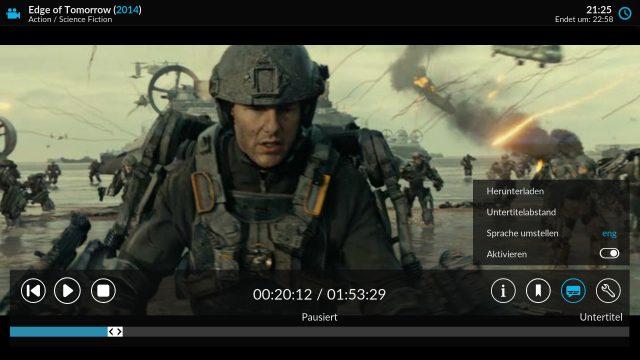 Dem Kodi-Player unterliegt mit Input Stream eine neue Technologie.