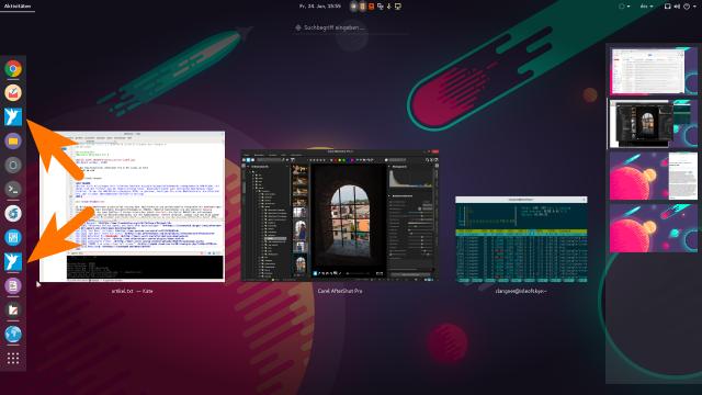 Corel liefert für Aftershot eine fehlerhafte Desktop-Datei für den Anwendungsstarter aus.