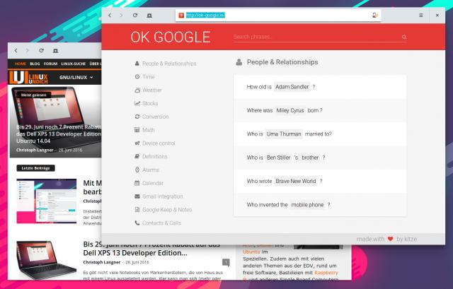 ok-google.io listet über 150 Sprachkommandos für Android-Geräte auf.