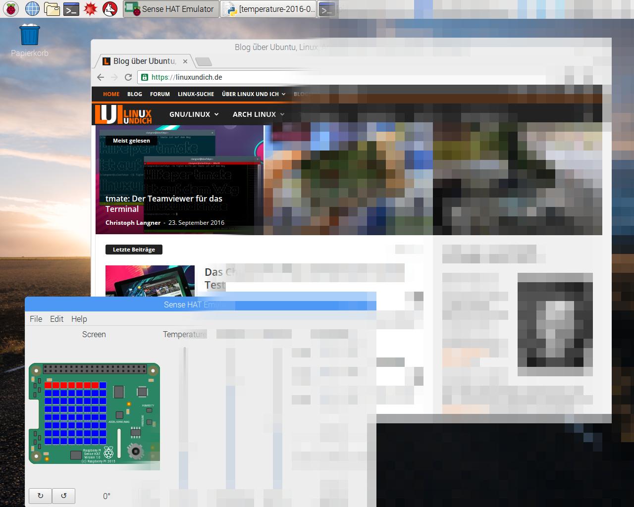 Neues Raspbian mit Pixel-Desktop und Chromium als Browser